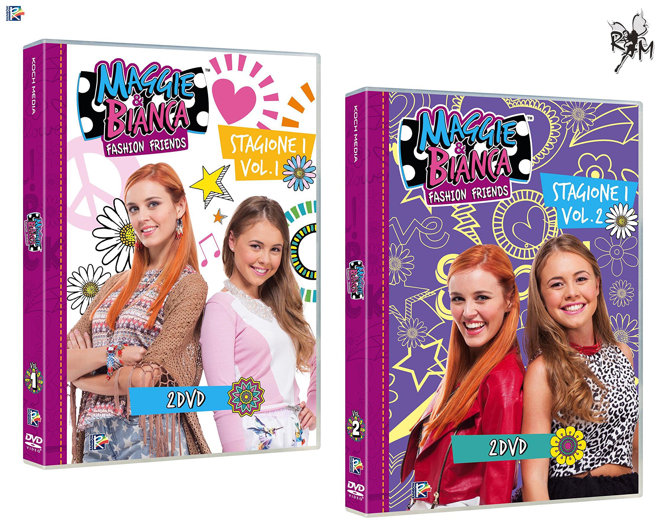 Les DVD de Maggie & Bianca arrivent en Italie !
