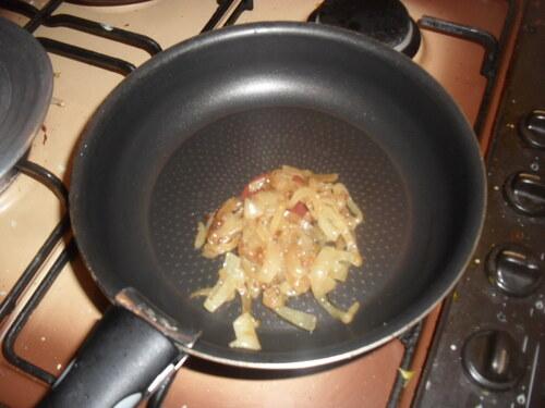 raviolis champignon/persillage/chèvre avec sa sauce à la crème