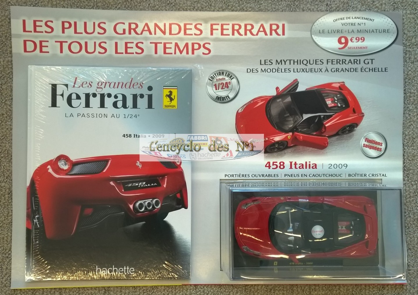 ferrari 1 24 hachette id es d 39 image de voiture. Black Bedroom Furniture Sets. Home Design Ideas