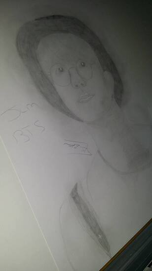 petit dessin drawing kpop {Jin}[BTS]