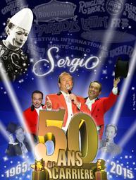 50 ans carrière Sergio