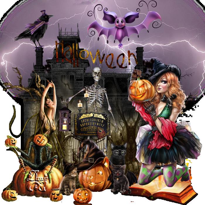 Halloween 3 pour forum Maryse ..