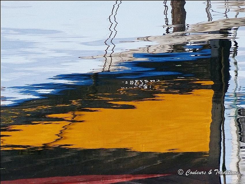 Sur le bassin, tableaux éphémeres