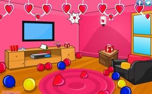 Jouer à Happy Valentines day quick escape