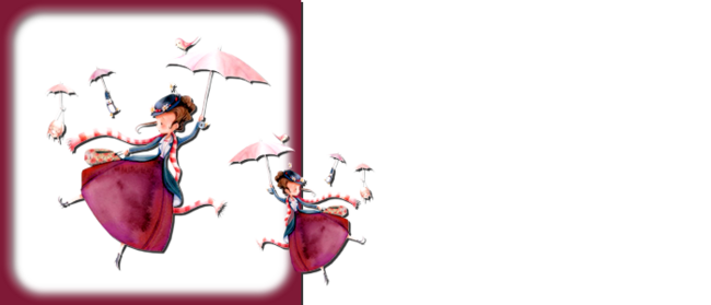 design naif mary poppins