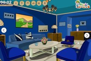 Jouer à Variety blue room escape