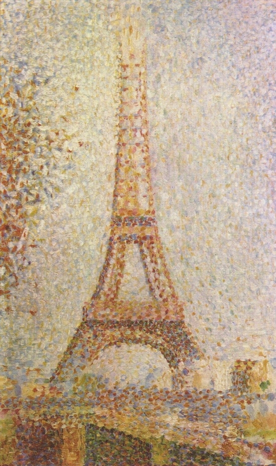 Georges Seurat, Tour Eiffel