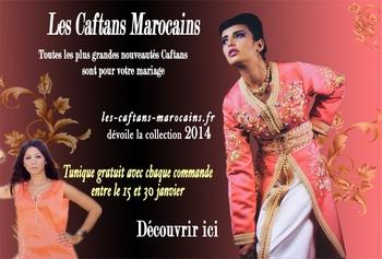 collection de caftan takchita et djellaba pour mariage marocain-2014