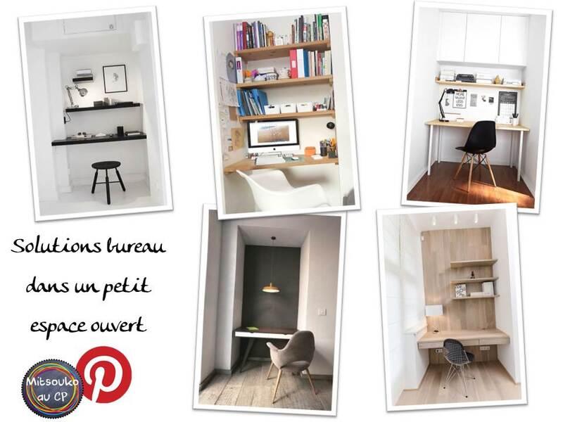 Des options d'aménagement pour micro espace bureau et atelier