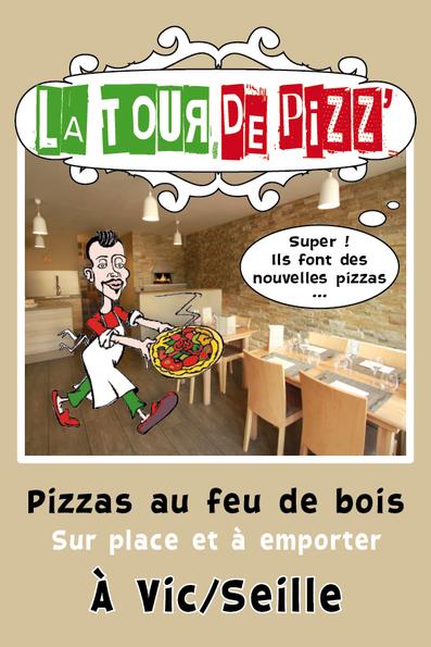 Premier anniversaire de La Tour de Pizz'