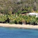 Vue panoramique de la plage depuis la Pointe de l'Anse l'Etang - Photo : Edgar