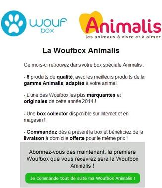 Woufbox Septembre 2014