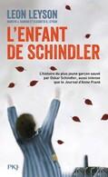 Couverture de L'enfant de Schindler