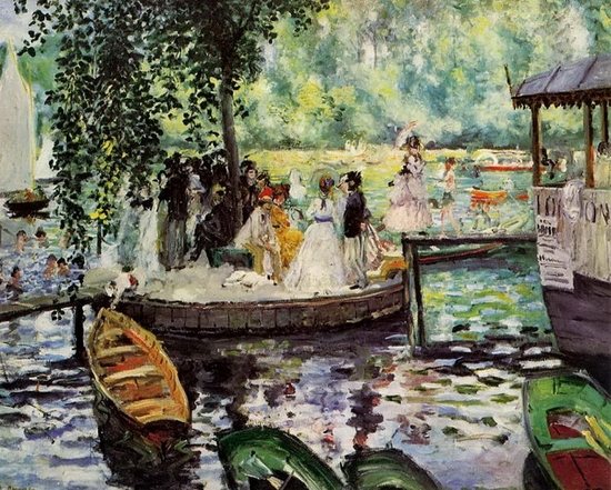 Pierre-Auguste Renoir, La grenouillère