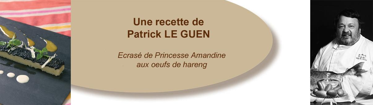 Ecrasé de Princesse Amandine aux oeufs de hareng