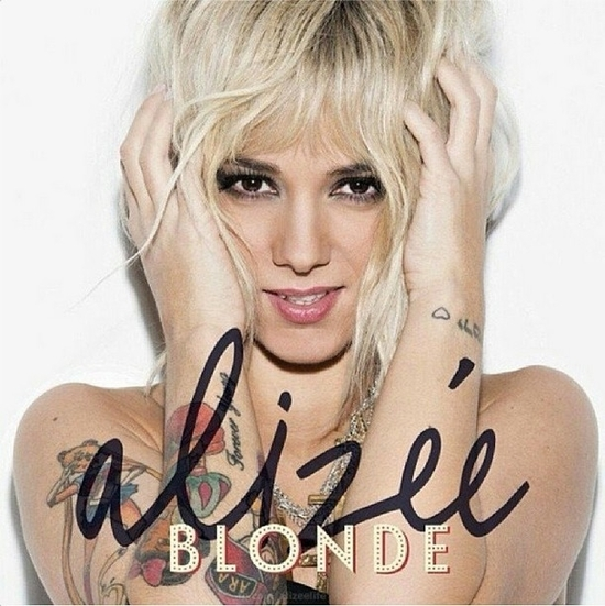 Alizée Blonde Album
