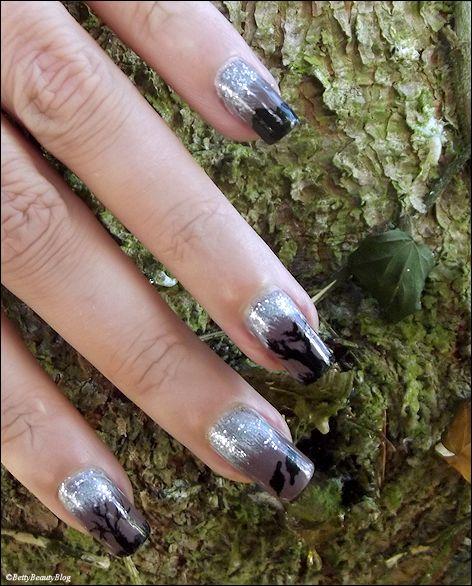 Nailstorming forêt, feuille, arbre ...