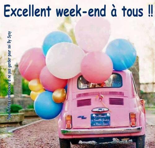 Bon week-end....