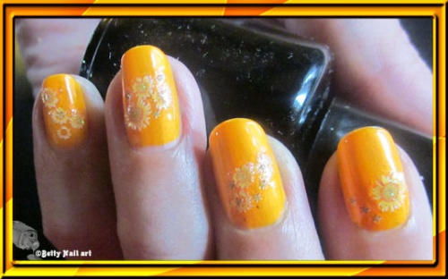 Déco sur China Glaze orange hot you