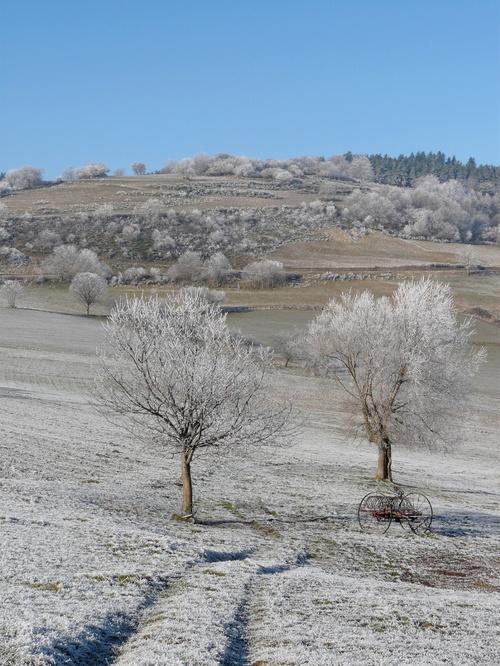 Burdignes... jour d'hiver