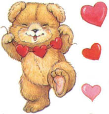St-Valentin Animaux