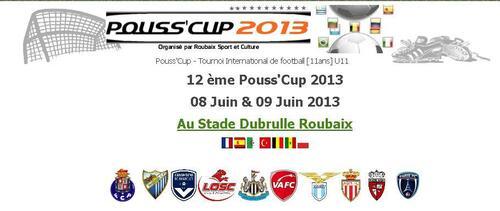 Pouss'Cup - Tournoi International de football U11 à Roubaix