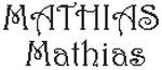 Dictons de la St Mathias + grille prénom !
