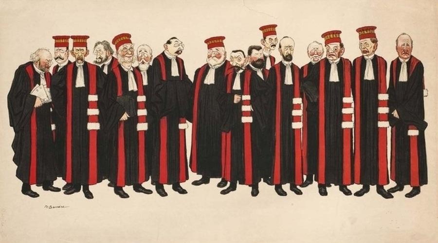 Les Professeurs de la Faculté de Droit de Paris à la Belle Epoque