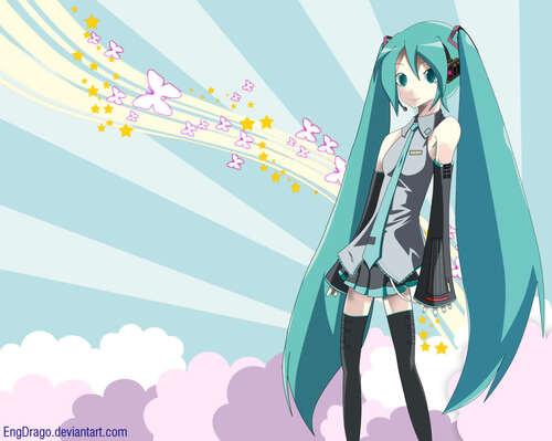 Encore des images de Hatsune Miku