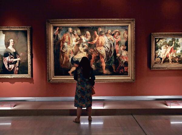 80 chefs d'oeuvre de l'Ermitage à Athènes