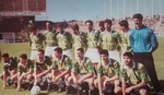 "Finale   au Stade du ""5 juillet 1972"" EP Sétif - MSP Batna 1-0"