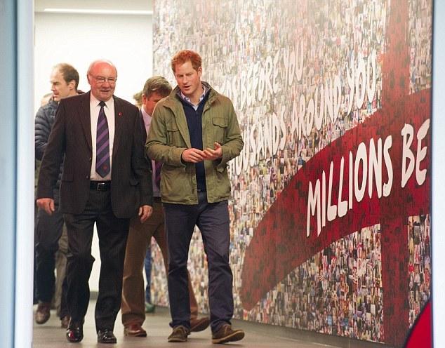 Harry au stade