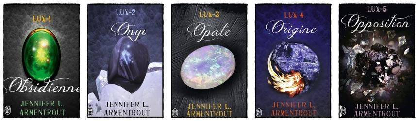 Lux (saga complète) - Jennifer L.Armentrout