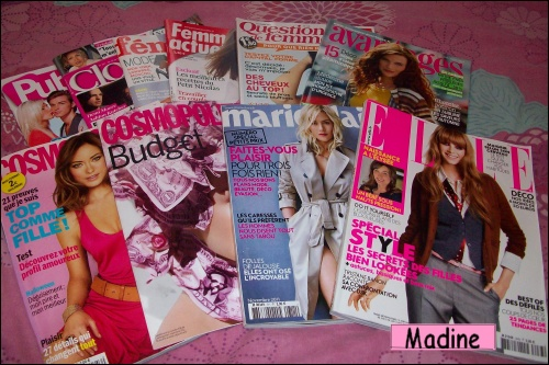 La revue de presse d'une beauty-addict...