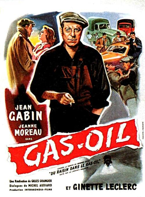 Gas-oil, Gilles-Grangier, 1955