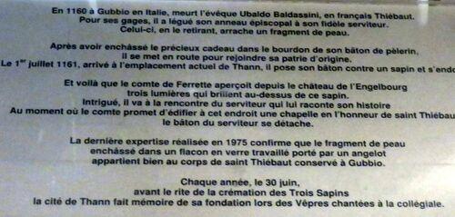 La Collégiale Saint Thiébaut -Thann  - 3