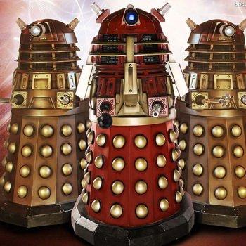 les daleks sont des robots extra-terrestres de taille humaine issus de la série