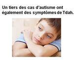 Un tiers des cas d'autisme ont également des symptômes de tdah