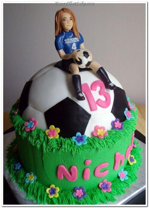 Football / Soccer Party : Ma sélection de 30 gâteaux pour filles !