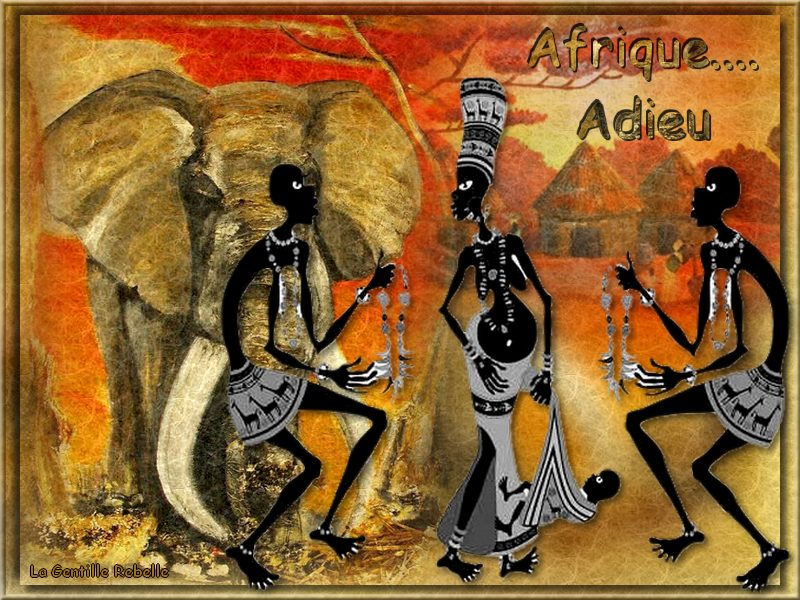 AFRIQUE ADIEU SARDOU