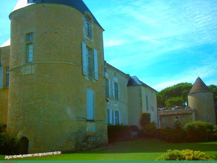 Château d'Yquem a Sauternes (Gironde)
