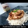 poulet mariné aux épices Yassa