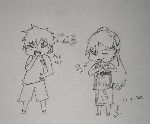 Rika et Kagami