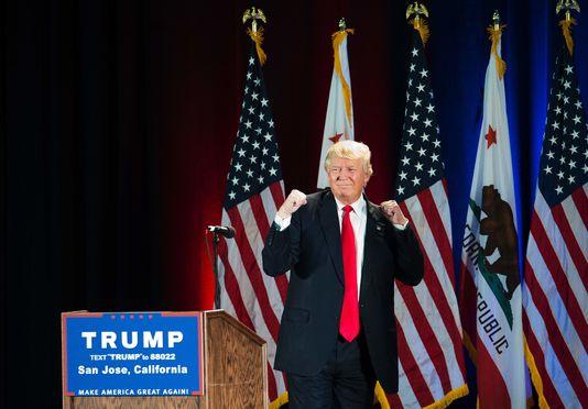 Donald Trump à San José, en Californie, le 2 juin.