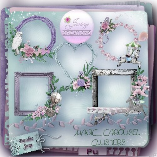 KIT MAGIC CAROUSEL DE JOSYCREATIONS