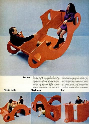 1 meuble : 4 destinations ...