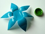 Des fleurs en pots de Danette