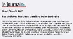 Les artistes basques derrière Peio Serbielle