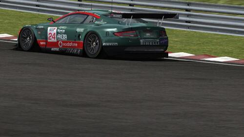 Team BMS Scuderia Italia Aston Martin DBR9