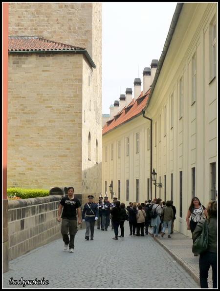 """Le château de Prague et sa """" Ruelle d'Or """""""
